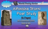 Alfonsina Storni Poet Study World Poetry Spanish Common Core