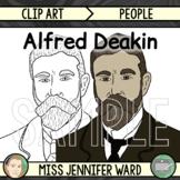 Alfred Deakin Clip Art