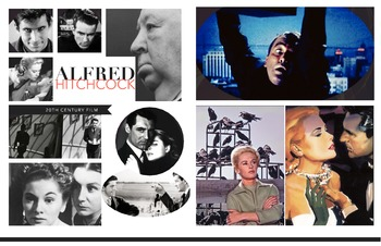 Alfred Hitchcock Film 1940-1976 ~ FREE POSTER