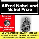 Alfred Nobel & Nobel Prize Differentiated Reading Comprehe