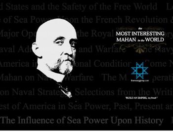 Alfred T. Mahan Mini Poster