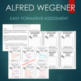 Alfred Wegener Activity - ENTRANCE AND EXIT SLIP