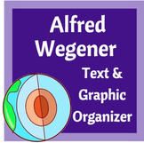 Alfred Wegener's Continental Drift Theory Graphic Organizer