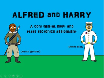 Alfred and Harry (Continental Drift and Plate Tectonics Assignment)