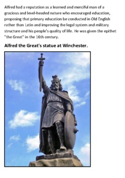 Alfred the Great Handout