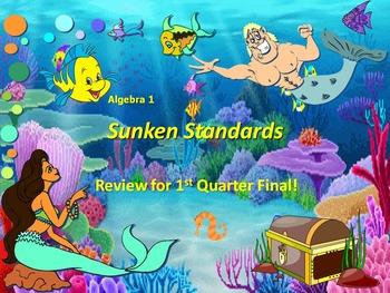 Alg 1 -- 1st Quarter Review