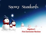 Alg 1 -- 1st Semester Review