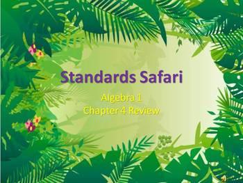 Alg 1 -- Graphs & Functions Review (Standards Safari)