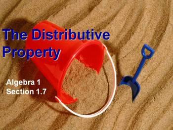 Alg 1 -- The Distributive Property