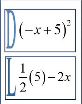 Alg 1 -- Translating Words to Algebraic Expressions Scavenger Hunt