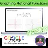 Alg 2 Graphing Rational Functions Mini Formative Assessment