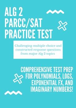 Algebra 2 PARCC Practice Test 2