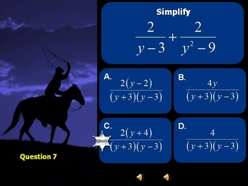 Alg 2 -- Rational Functions Review