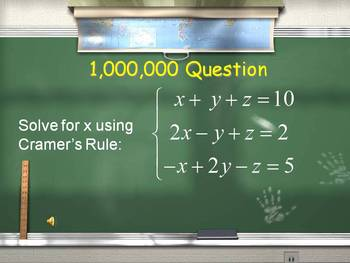 Alg 2 -- Solving Systems of Equations Review