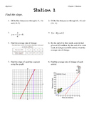 Alg1: All About Linear Equation Stations