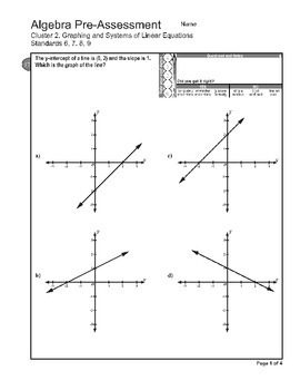 Algebra 1 (0.X): All Benchmarks and Course Assessments Bundle