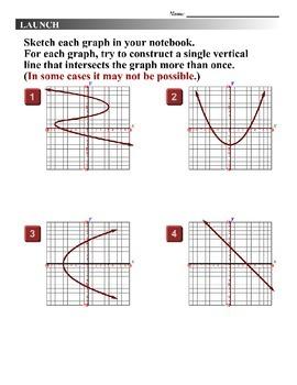 Algebra 1 (1.08) DRAFT: The Vertical Line Test