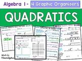 Algebra 1 & 2 Graphing Quadratic & Absolute Value Functions - Graphic Organizers