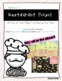 Algebra 1/2 Restaurant Project