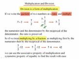 Algebra 1: 220 Multiplying and Dividing Fractions