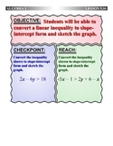 Algebra 1 (5.06) DRAFT: Graphing Linear Inequalities in St