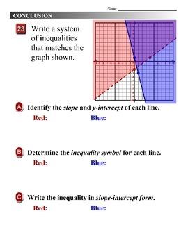 Algebra 1 (5.08) DRAFT: Convert a System to Slope-Intercept Form