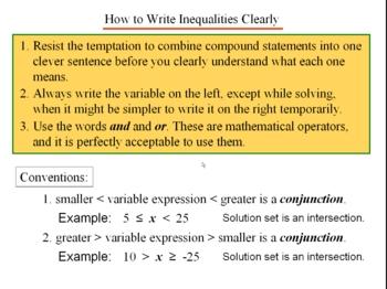 Algebra 1: 540 Conjunction and Disjunction