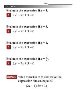 Algebra 1 (8.03) DRAFT: Solve Complex Quadratic Equations