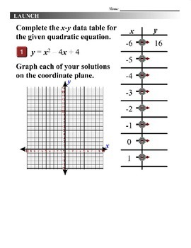 Algebra 1 (9.02) DRAFT: Solve Quadratic Equations by Graphing
