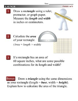 Algebra 1 (9.05) DRAFT: Solving Quadratic Polygon Problems by Drawing
