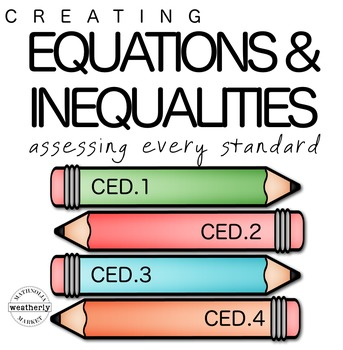 EQUATIONS and INEQUALITIES TEST PREP