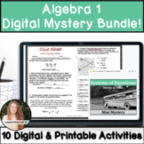 Algebra 1 Activities Bundle! CCSS & TEKS Aligned!