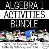 Algebra 1 Activities Bundle