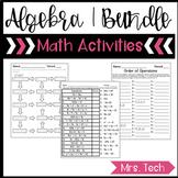 Algebra 1 Activities {Growing Bundle}