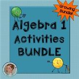 Algebra 1 Activities Growing Bundle