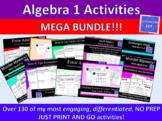 Algebra 1 Activities MEGA Bundle!