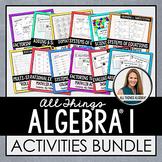 Algebra 1 Curriculum: Activities Bundle