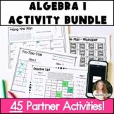 Algebra 1 Activities! NO PREP Bundle!
