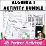 Algebra 1 Activities! NO PREP Bundle!