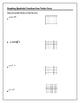 Algebra Tutorial & Worksheets: Graphing Quadratics from Vertex Form