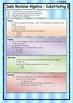 Algebra 1 BUNDLE - Algebra 1 Worksheets