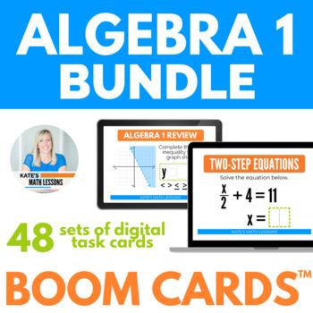 Algebra 1 Boom Cards BUNDLE