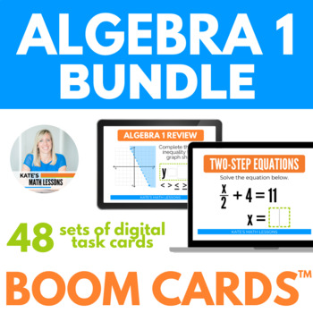 Algebra 1 Boom Cards BUNDLE