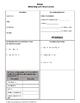 Algebra 1 Bundle: 1st Semester Curriculum