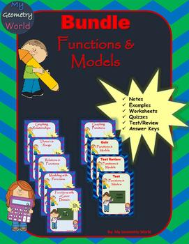 Algebra 1 Bundle: Functions & Models
