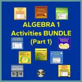 Algebra 1 Curriculum Growing Bundle - ALL My Activities