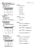 Algebra 1 Calculator Review (TI-84)