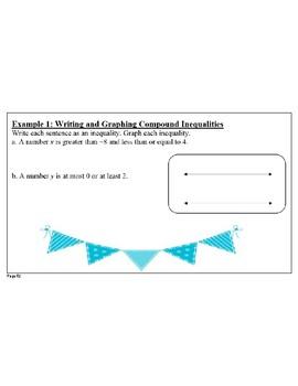 Algebra 1 Chapter 2 Flipcharts- Big Idea Textbook Aligned