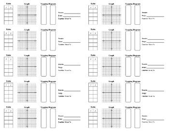 Holt Algebra 1 - Chapter 4.2 Notes Glue-in (set of 10) (DOC & PDF)