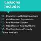 Algebra 1 Common Core: Chapter 1 Foundations of Algebra Unit